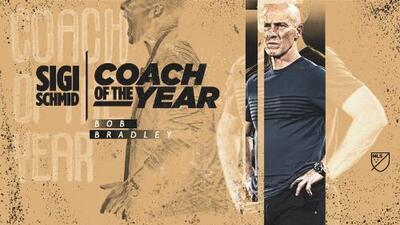 Ninguna sorpresa: Bob Bradley es elegido como Entrenador del Año en MLS
