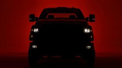 Chevrolet adelanta imagen de la nueva Silverado 4500HD y 5500HD