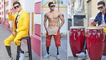 Joven hispano con las dos piernas amputadas debuta en la Semana de la Moda en Nueva York