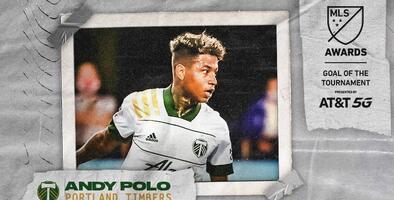 Doblete del campeón Portland Timbers: Gol y Atajada del Torneo MLS is Back