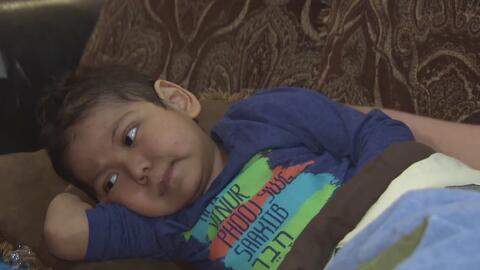 Él es Alfredo, un niño hispano que necesita un trasplante de células madre para seguir viviendo