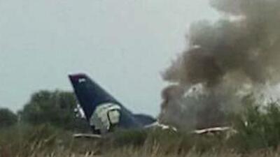 Accidente de avión en México deja 18 personas heridas, una de ellas en estado de gravedad