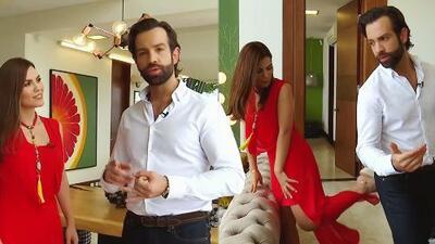 Karina Banda y Diego de Erice recorren la mansión donde vivirán las 12 parejas famosas más 'Inseparables'