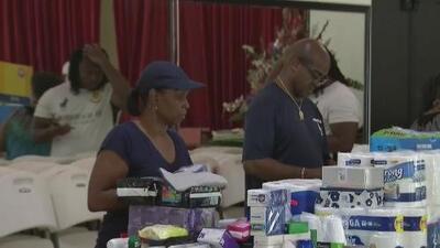 El sur de la Florida se prepara para ayudar a Bahamas, una vez que se calmen los vientos
