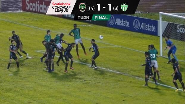 Marathón avanza a cuartos de final en la Concacaf League
