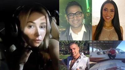 Identifican a cuatro de las seis víctimas mortales de un accidente aéreo en un campo de golf en Arizona
