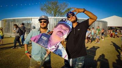 El Chapo se 'fugó' para Coachella