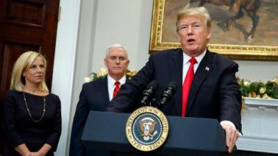 Trump envía a Pence y Nielsen como emisarios a Centroamérica para que expliquen la política de 'tolerancia cero'
