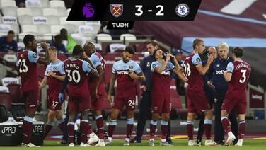 Chelsea pierde ante West Ham, Wolves acechan la Champions