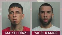 Arrestan a dos sospechosos de agresión a mano armada y robo en una vivienda de Hialeah