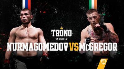 Previa: El trono de la UFC en disputa, hoy pelean Nurmagomedov vs. McGregor
