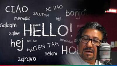 ¿Hay hispanos que hablan más de dos idiomas? El Feo lo duda y radioescuchas llaman para comprobarlo