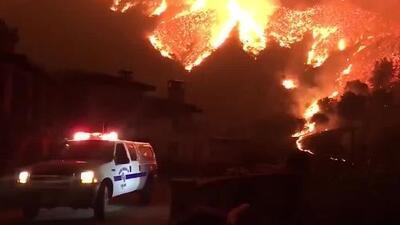 Compañía de energía admite que uno de sus equipos influyó en el inicio del incendio Thomas