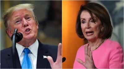 """Trump llama a Pelosi """"Nancy la loca"""" y asegura que él es """"un genio extremadamente estable"""""""