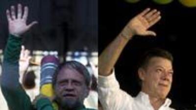 Antanas Mockus y Juan Manuel Santos: dos estilos, dos Colombias
