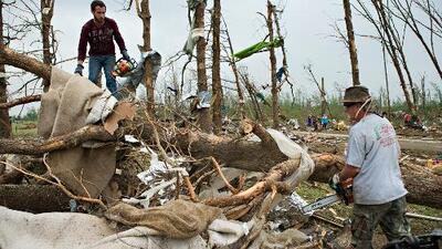 Tormenta tropical Ana y tornados: la causa del mal tiempo durante el fin de semana