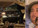 """""""La revisé y ya había fallecido"""": esta madre sobrevivió al accidente de California, pero vio morir a su hija"""
