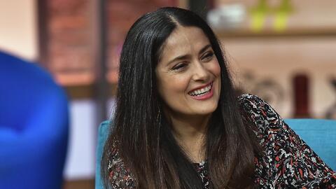 Salma Hayek se muestra sin maquillaje y en un papel muy diferente en su nueva película