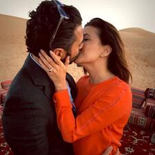 ¡Eva Longoria está comprometida!