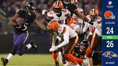 Los Ravens se coronan campeones divisionales y dejan fuera de Playoffs a los Steelers
