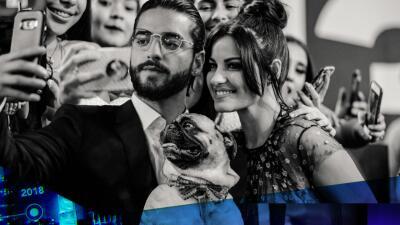 Selfies, reencuentros y hasta perritos: las fotos exclusivas de Premio Lo Nuestro