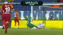 Escalofriante lesión de Fernando Muslera; se fractura tibia y peroné