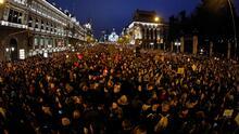 España se para: las mujeres hacen huelga masiva en el 'Día Internacional de la Mujer'