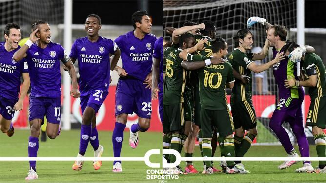 ¡Camino al título! Así llegaron Portland Timbers y Orlando City a la Final de MLS is Back