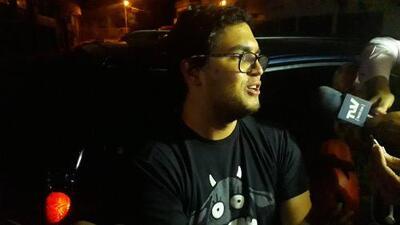 """""""El juicio sigue su curso"""": las primeras declaraciones del periodista Luis Carlos Díaz tras ser excarcelado"""