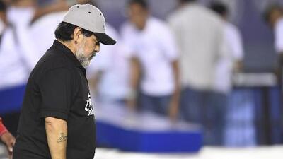 """Diego Maradona: """"Estoy triste por mis muchachos"""""""