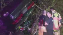 Un conductor aparentemente ebrio choca contra un árbol tras una persecución policial en Humble