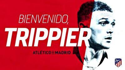 El Atlético de Madrid hace oficial el fichaje de Kieran Trippier del Tottenham