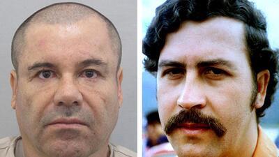 El Chapo vs. Pablo Escobar: ¿qué los une y qué los separa?