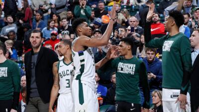 Carrusel NBA: Bucks siguen ganando, Blazers frenaron a Warrios, el récord de Harden y más