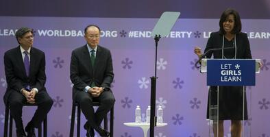 Banco Mundial invertirá en la educación de niñas en apoyo al programa de Michelle Obama