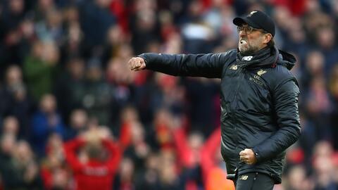 Jürgen Klopp aseguró que un el fútbol también se gana con un poco de suerte