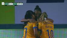 ¡No paran los goles de Tigres! Belén Cruz anota el 4-1 con un fogonazo