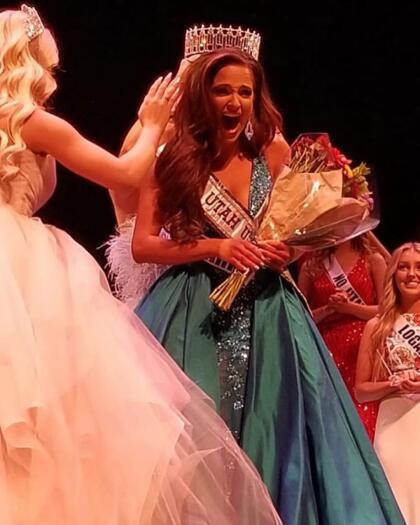 Tras cinco intentos, finalmente fue coronada Miss Utah USA el fin de semana pasado.