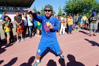 Manny Pacquiao empezó entrenamientos para Timothy Bradley