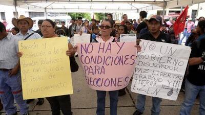 Guatemala se prepara para votar en medio de rechazo y desconfianza