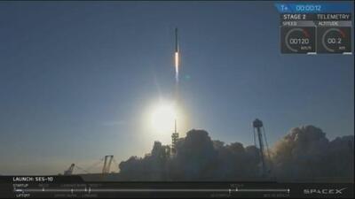 Regresa a Tierra el Falcon 9 de SpaceX, el primer cohete reutilizado de la historia