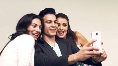 Ray Diaz, 'Nick' in 'East Los High' visited Despierta America and met Ana Brenda Contreras