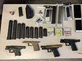 Cuatro hombres arrestados por intentar fabricar y vender 'armas fantasma' en Filadelfia
