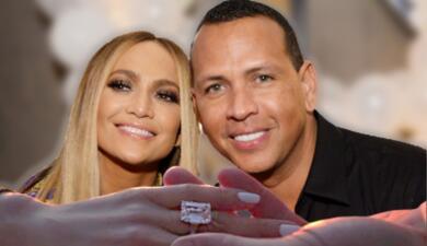 Jennifer López y Alex Rodríguez se comprometen (y ella muestra el anillo)