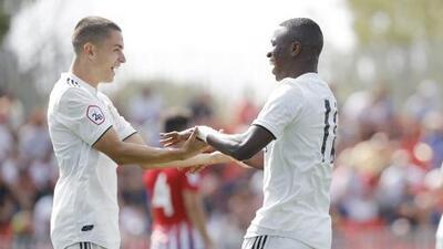 Doblete y mordisco: Vinícius, la nueva joya del Real Madrid, se luce y recibe una insólita agresión