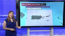 Jueves ventoso con mínima actividad de lluvia en Puerto Rico