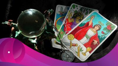 La tirada de tres cartas en el tarot