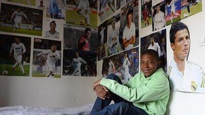 Los sueños se cumplen: la fotografía de Mbappé y Cristiano que le da la vuelta al mundo