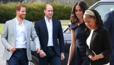 En fotos: Meghan Markle y el príncipe Harry (separados) horas antes de su boda
