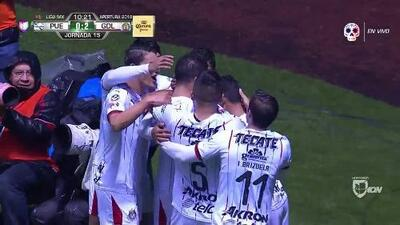 ¡GOOOL! Jair Pereira anota para Guadalajara